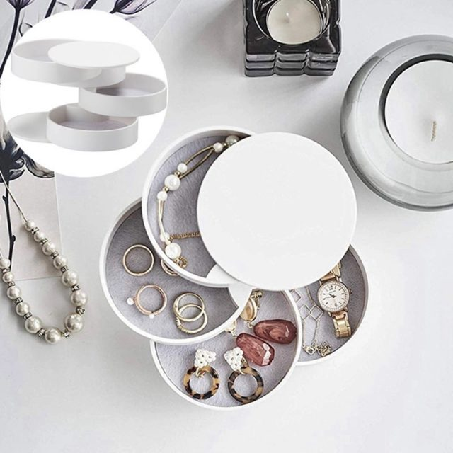 Revolve 4-Tier Jewelry Organizer